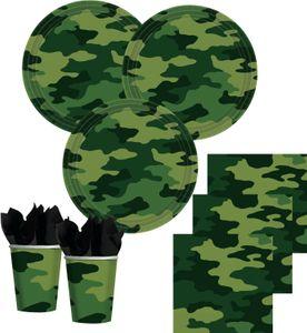 Tischdecke Camouflage grün – Bild 2