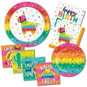 16 Servietten Fiesta Fun - Happy Birthday – Bild 3