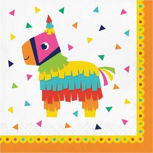 16 Servietten Fiesta Fun  – Bild 1