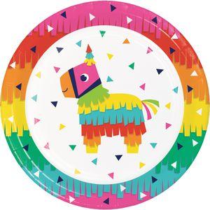 8 Papp Teller Fiesta Fun – Bild 1