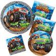 8 Einladungskarten Monster Truck Rallye