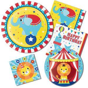 3 hängende Girlanden Zirkus Party – Bild 2