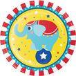 Zirkus Party Set zum 2. Geburtstag 8 Personen - 32 Teile