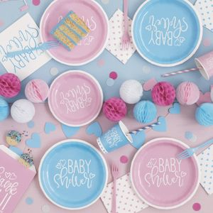 Torten Banner Baby Shower It' a Girl – Bild 2