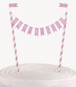 Torten Banner Baby Shower It' a Girl – Bild 1