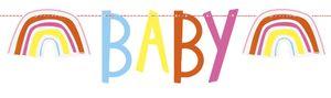 DIY Girlande Baby Zoo für die Babyparty