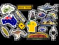 XXL Konfetti Australien