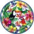 8 Papp Teller Tropical Luau