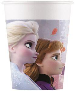 8 Papp Becher Frozen Eiskönigin 2