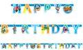 Geburtstags Girlande Top Wing - das coolste Team der Lüfte