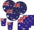 40 Teile Australien Party Deko Set für 10 Personen
